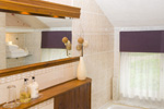 The en-suite bathroom