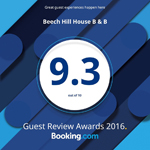9.3 Booking.com award