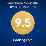 Booking.com 9.5 Award