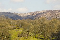 Whitbarrow Scar and valley